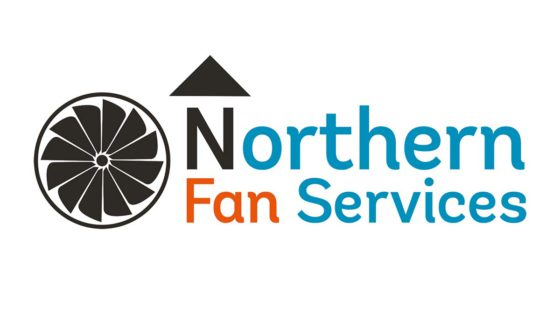 Northern Fan Services, Northern Fan Services brand identity and website design, Click web design, Click web design